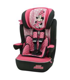 Minnie Mouse - Silla Auto Imax Grupo 1-2-3 (De 9 a 36 Kg) Team Tex