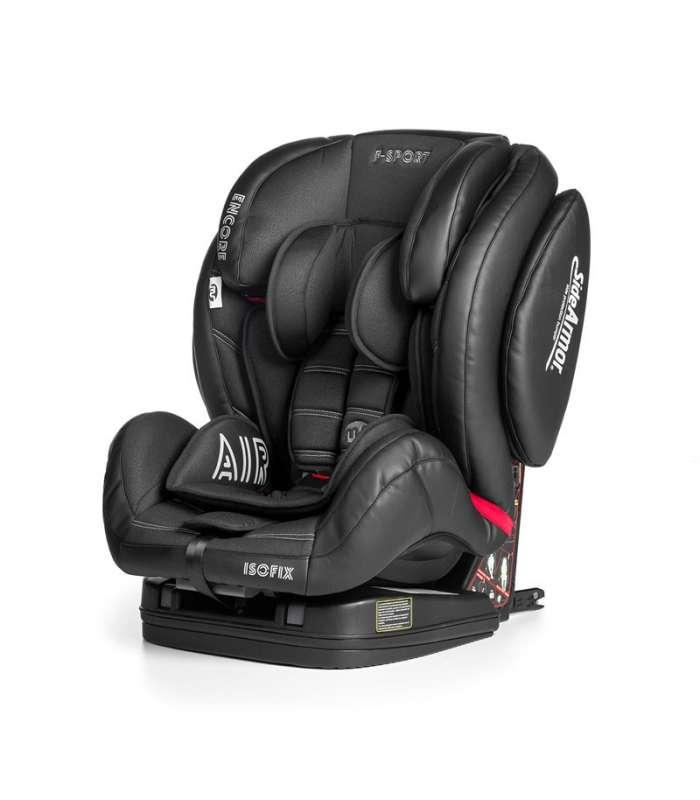 9-36 kg Innovaciones MS Encore Fix color negro//rosa Silla de auto grupo 1//2//3