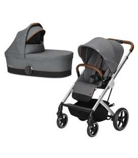 Ballios S Cybex Denim Manhattan Grey Duo Cromado