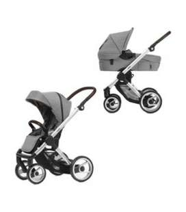 MUTSY EVO DUO LIGHT GREY CHASIS ALUMINIO
