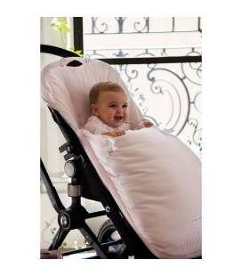Saco universal para silla de paseo Nido rosa de Pasito a Pasito