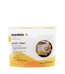 Bolsas para esterilizar en microondas Medela Quick Clean (5 unids.)