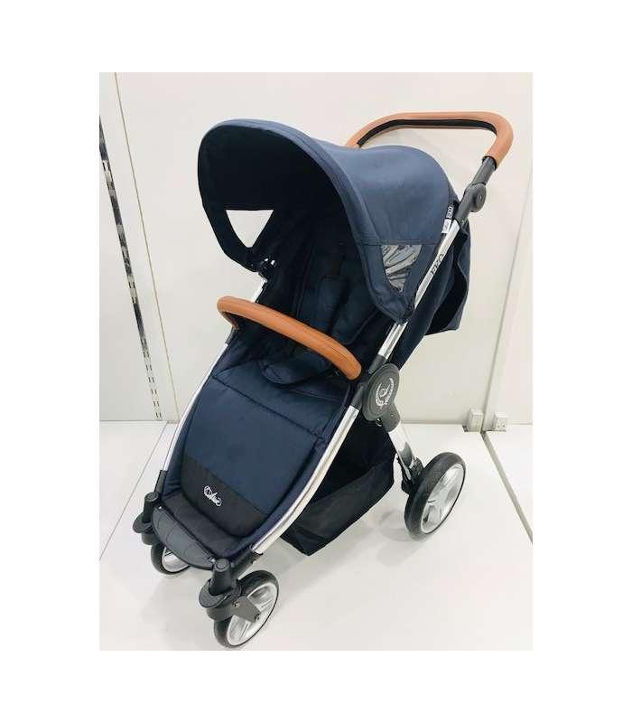 carrito bebe silla de paseo con funda para la lluvia y manillar extraible beige ROCKING BABY