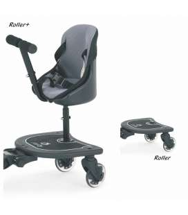 PATINETE UNIVERSAL ROLLER + ASIENTO CARBEBÉ