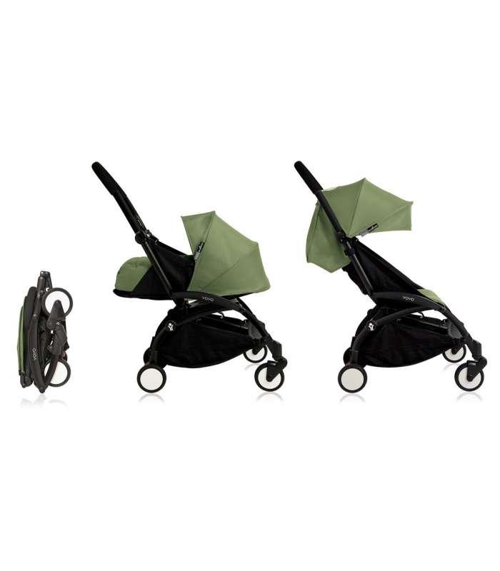 Coches para bebes +6 meses Babyzen YOYO | Negro con Ginger