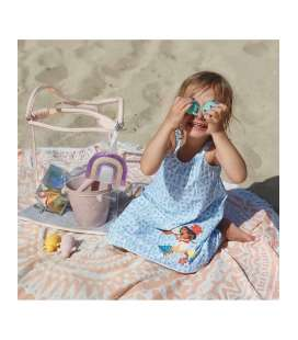 BOLSO DE PLAYA PLAY AND STORE TALLYTATE TRANSPARENTE
